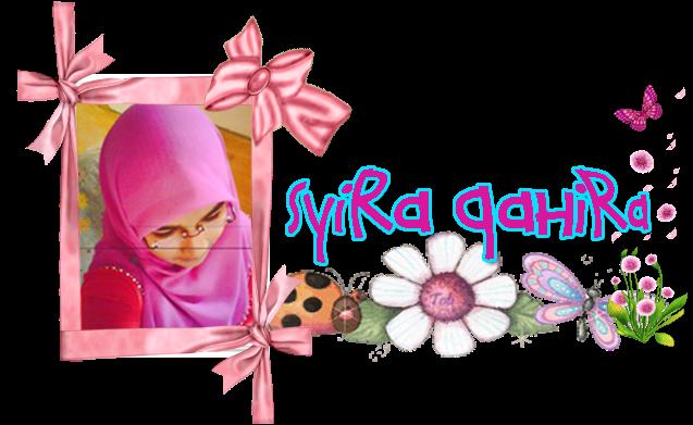 terima kad hari jadi dari Cik Syira C. Gadis Kidal… Saya sangat