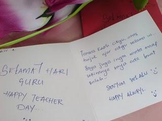 Terima Kasih Anak Murid Ku Sekamarrindu2009s Blog