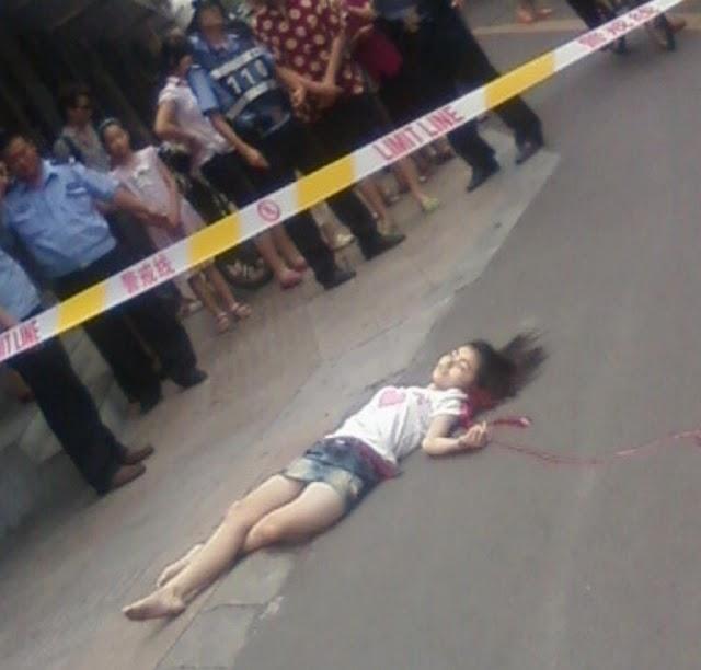 18SG Gambar Gadis 17 Tahun Bunuh Diri Dengan Terjun ...