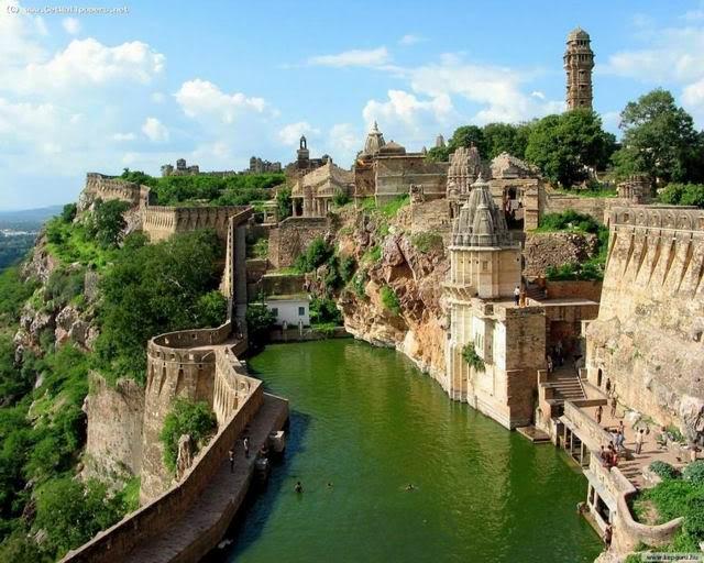 Benteng chittogarh, india